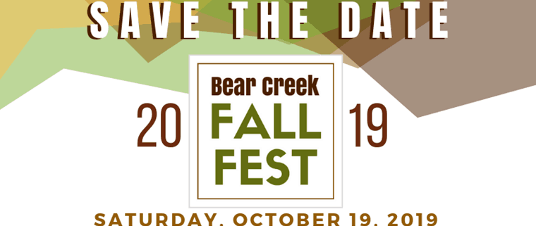 2019 Bear Creek Fall Festival - SOCAN - Confronting Climate
