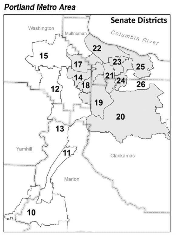 oregon state legislature district map Oregon Legislative Districts Resources Socan Confronting oregon state legislature district map